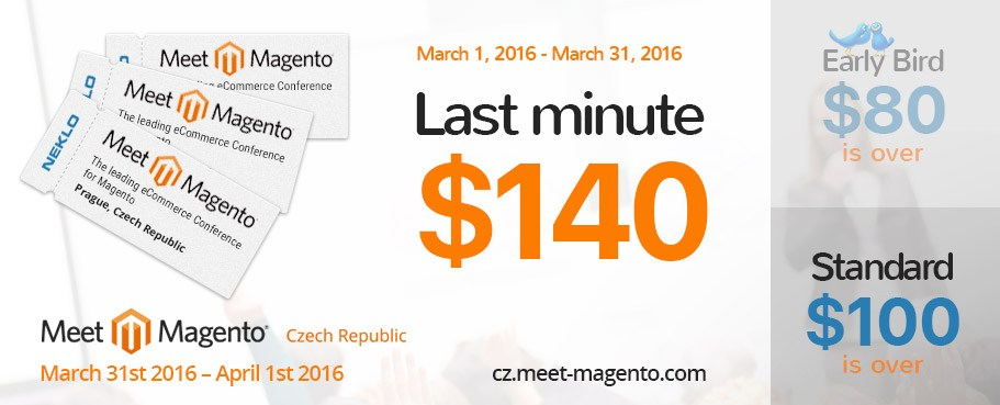 Ticket for Meet Magento